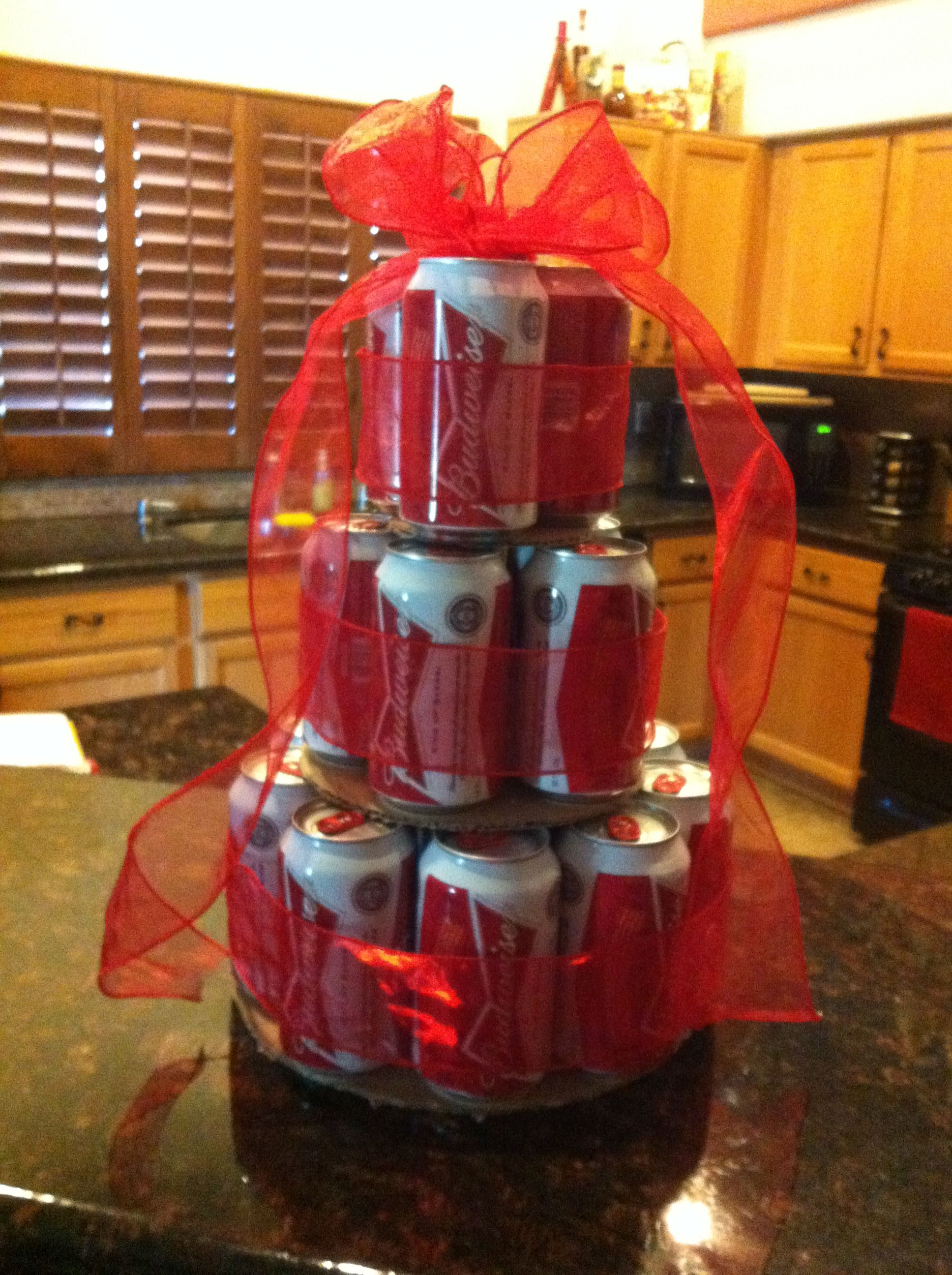 Budweiser Cake Totally making for a friends birthday
