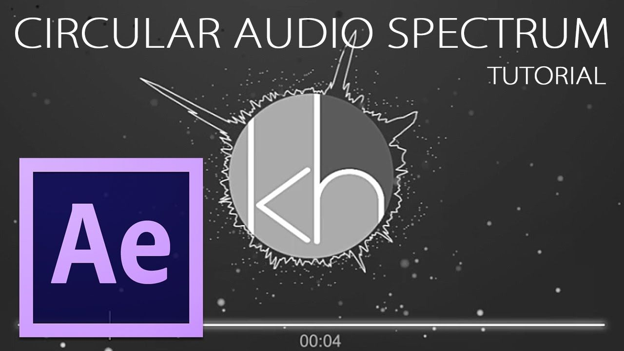 After Effects: Circular Audio Spectrum Tutorial | After Effects