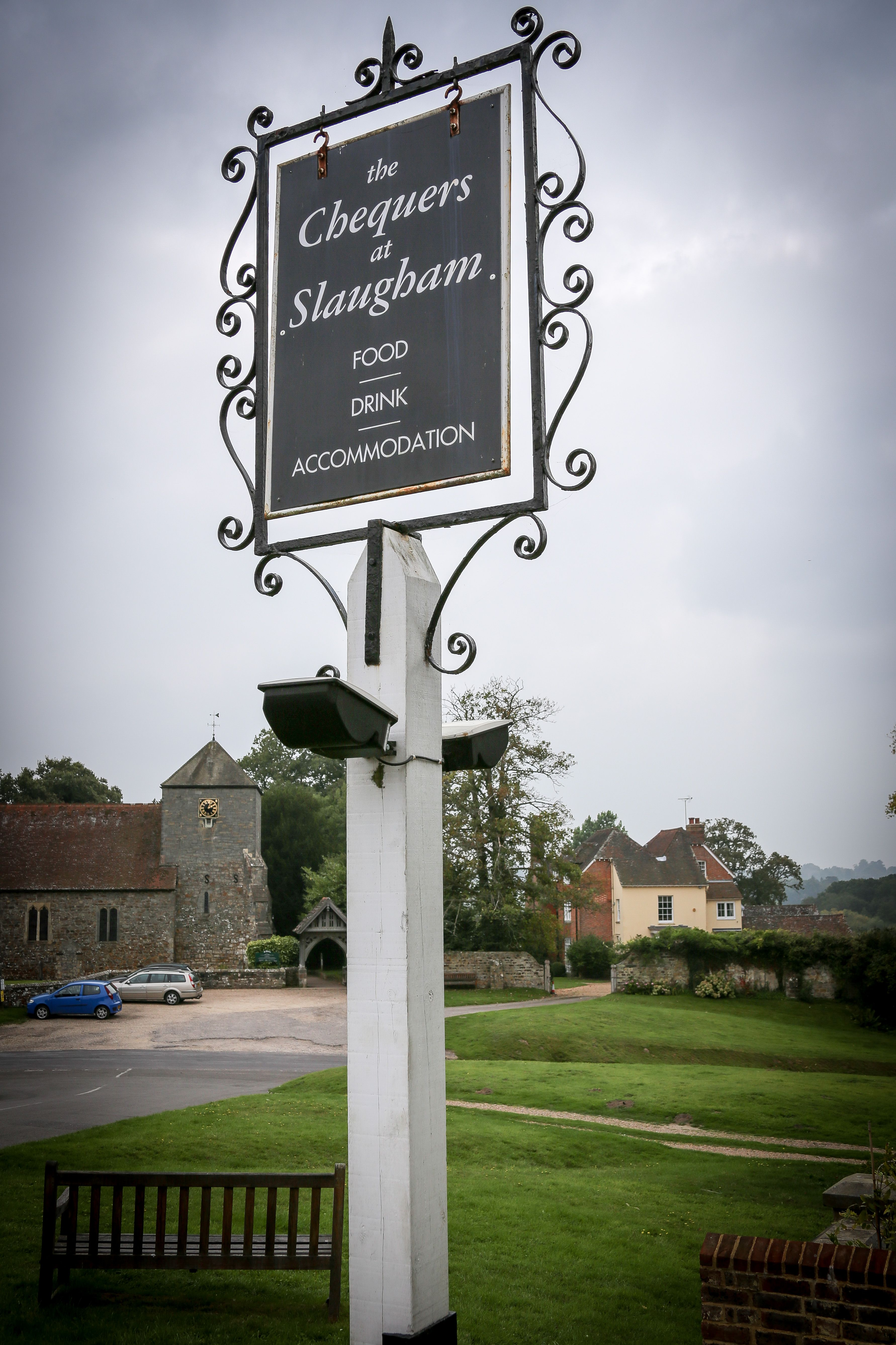 English Countryside Wedding Perfect Reception Venue The Chequers Slaugham Sussex