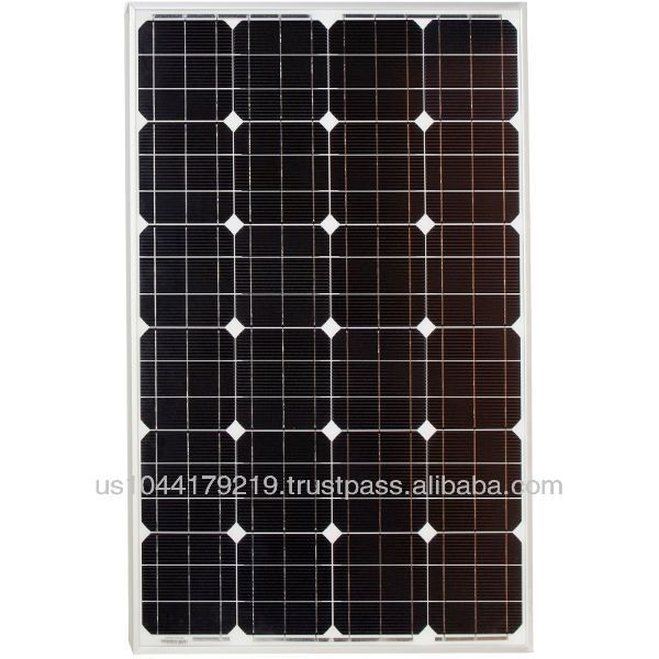 Grape Solar 105 Watt Monocrystalline Pv Solar Panel For Rv S Boats And 12 Volt Systems 108 95 119 99 Solar Panels Solar Pv Panel Solar Pv