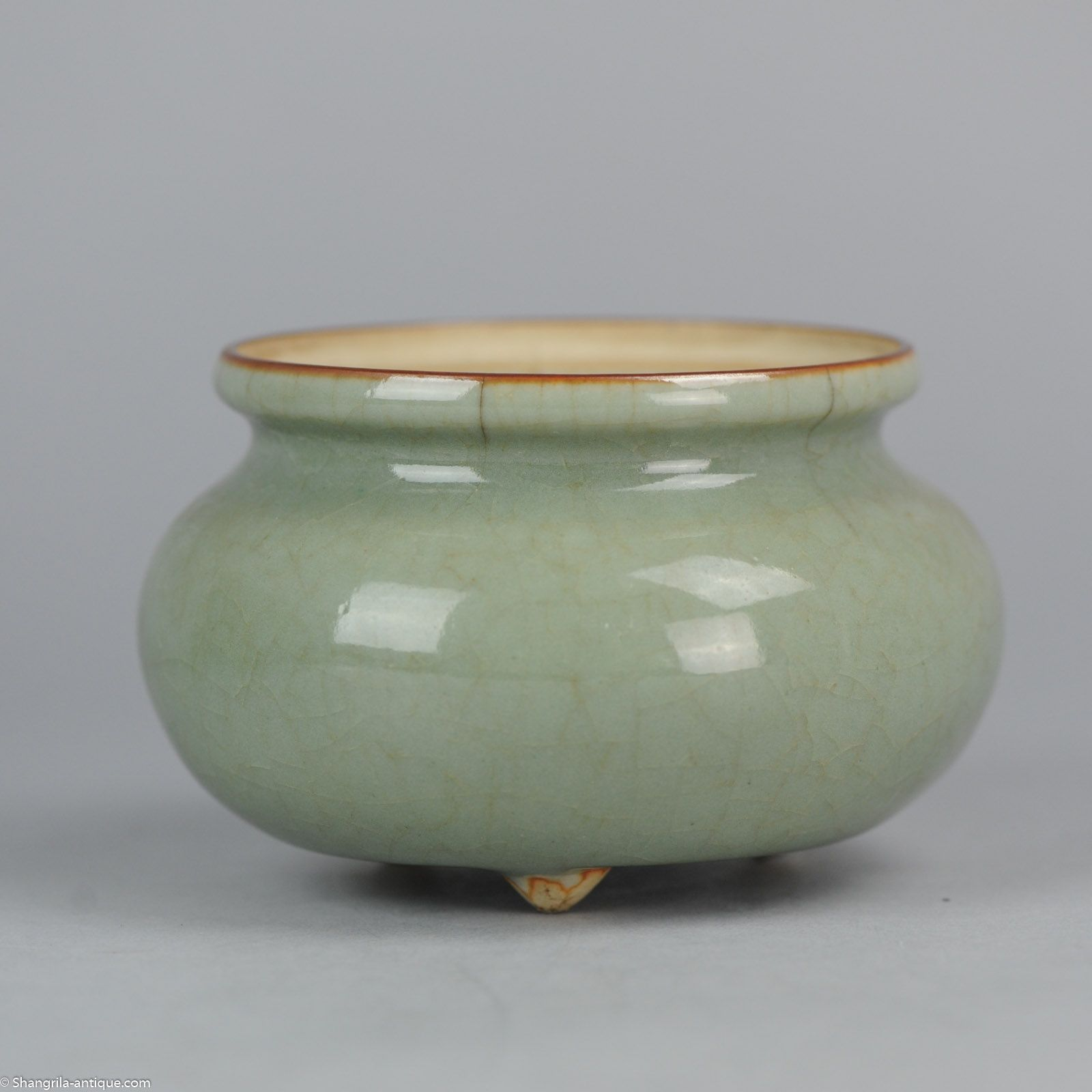 china antique jun yao ware jar 3 3 4 in 5 in chinese