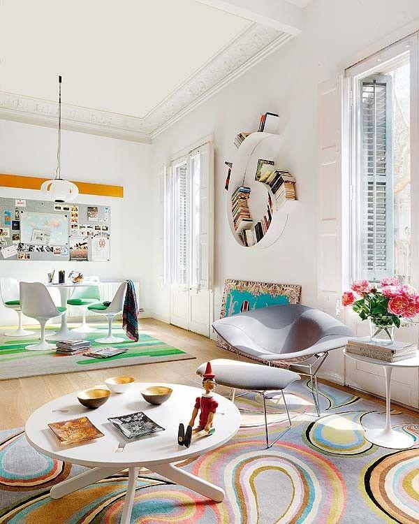 Love the rugs! // Jurnal de design interior - Amenajări interioare, decorațiuni și inspirație pentru casa ta: Explozie de culoare