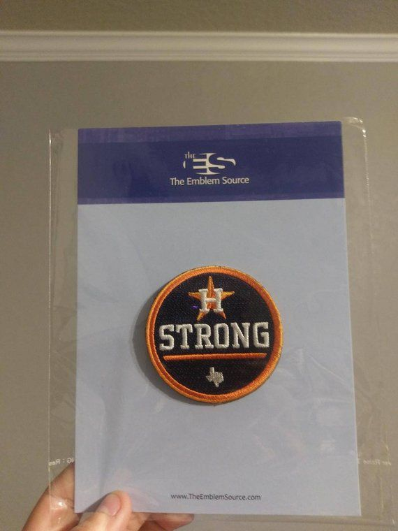 c182c6c0 Houston Strong Patch Baseball Jersey Patch - 2.5