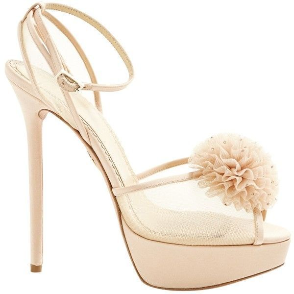 Pre-owned - Cloth heels Charlotte Olympia HtV4EA1MZ