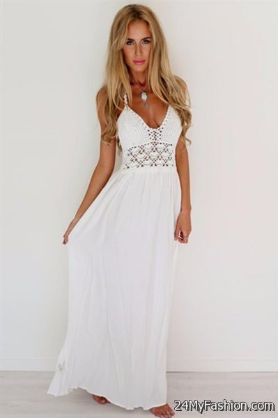 2769426a78 white summer maxi dresses 2017-2018