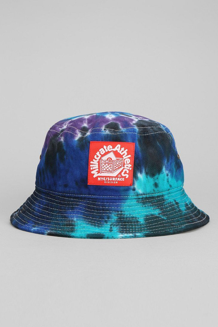 Milkcrate Athletics Tie-Dye Bucket Hat  ed82ef78f28