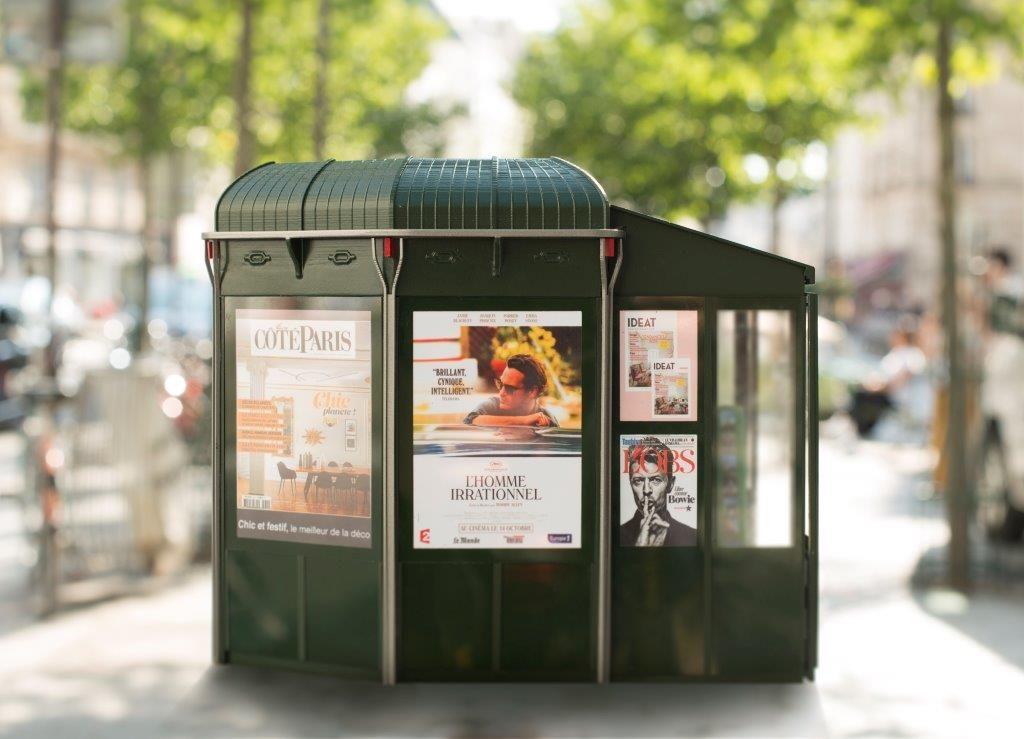 """Anne Hidalgo on Twitter: """"Les nouveaux kiosques de presse : innovants, attractifs et à l'image de @Paris https://t.co/Vr0jAOXOqo"""""""