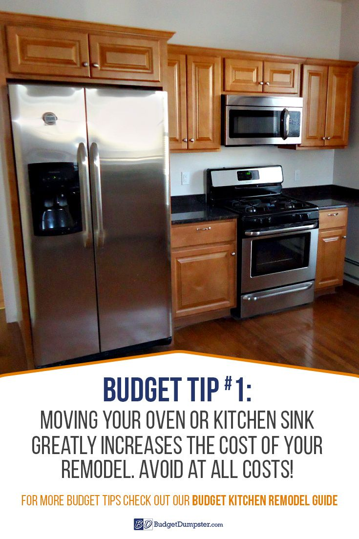 Budget kitchen remodel tip donut move your sink or oven youull