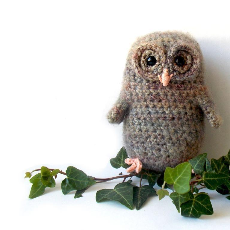 Bill The Owl Baby Amigurumi Pattern