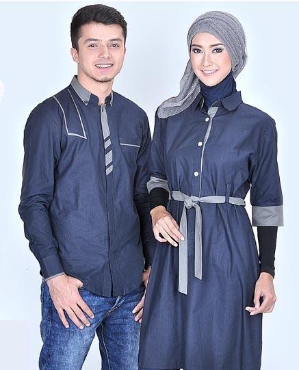 Baju Busana Muslim Koko Pasangan Couple Untuk Pria Wanita Terbaru Harga  Murah 0b4de17c38