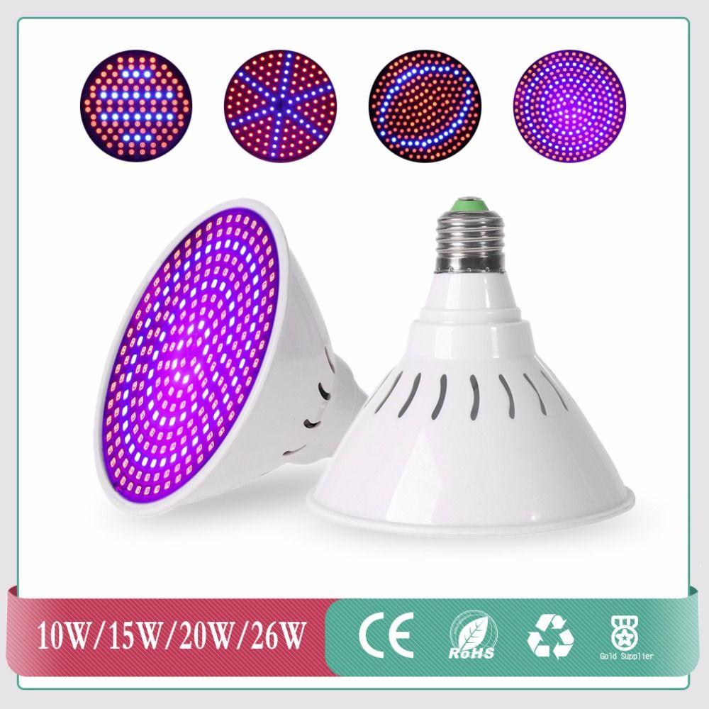 Goedkoopste 10 w/15 w/20 w/26 w high power led grow light lamp voor ...