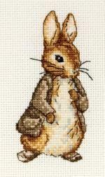 Benjamin Bunny - Beatrix Potter Cross Stitch Kit