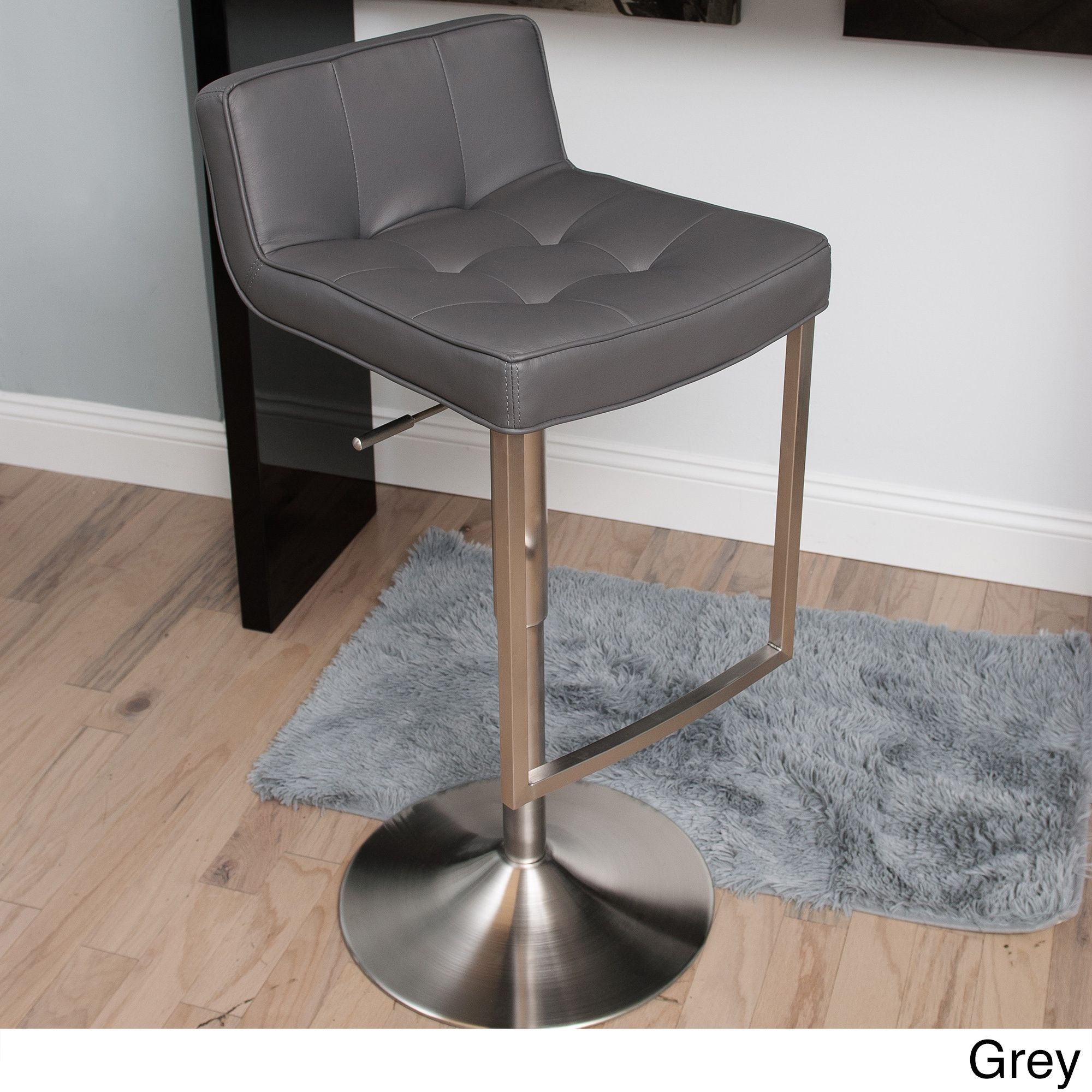 gray bar stool - This slick stylish barstool features a modern construction with a fabulous · Counter Height ... & gray bar stool - This slick stylish barstool features a modern ... islam-shia.org