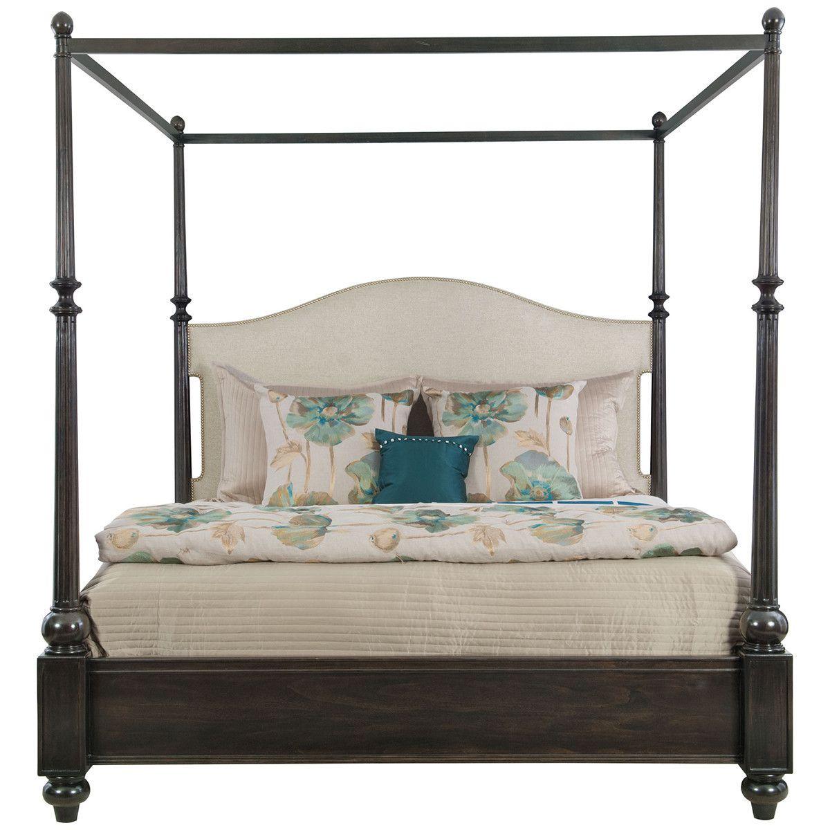 Best Bernhardt Sutton House Upholstered Canopy Bed Sutton House Bed Furniture Bernhardt Furniture 400 x 300