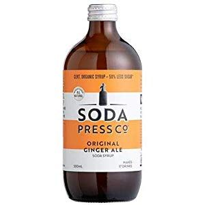 Soda Press Co Original Ginger Ale Syrup 500ml Cupboard Pasta-Pulses Cupboard Spices-Seasonings Cupboard Minerals-Supplements Capsules Water Cupboard Supplies Mixes Flour-Mixes Supplies Tools Cloths-Wipes Cupboard Biscuits