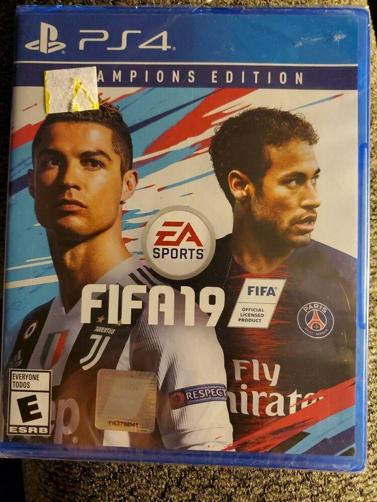 FIFA 19 Champions Edition (Sony PlayStation 4, 2018) Brand