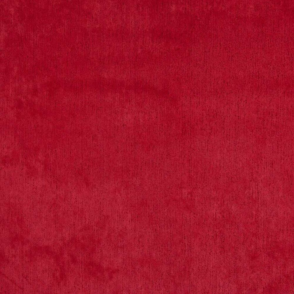 D822 Red Textured Stain Resistant Microfiber Upholstery Fabric By