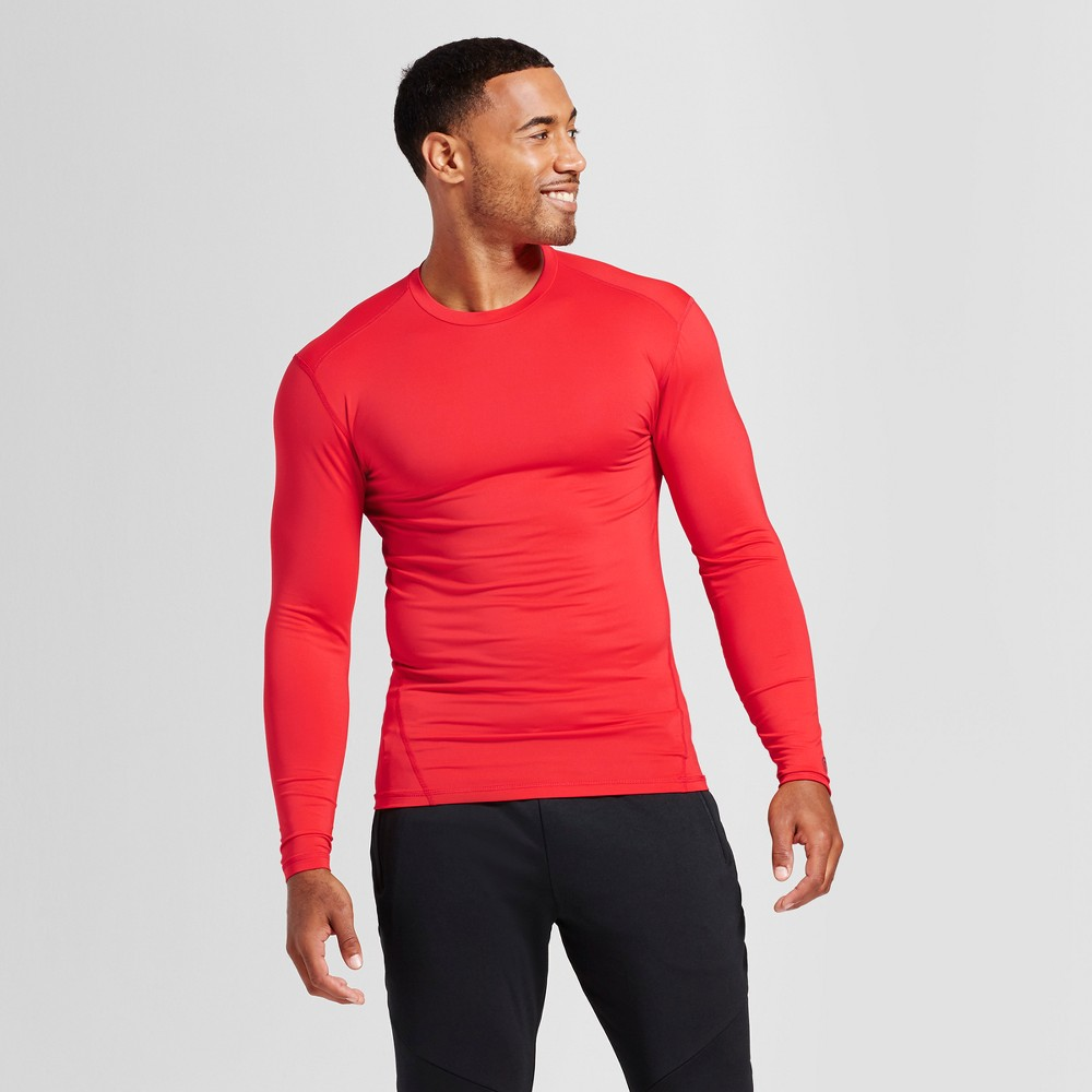 Men/'s Long Sleeve Crew Neck Compression Shirt S or  XL C9 Champion Power Core