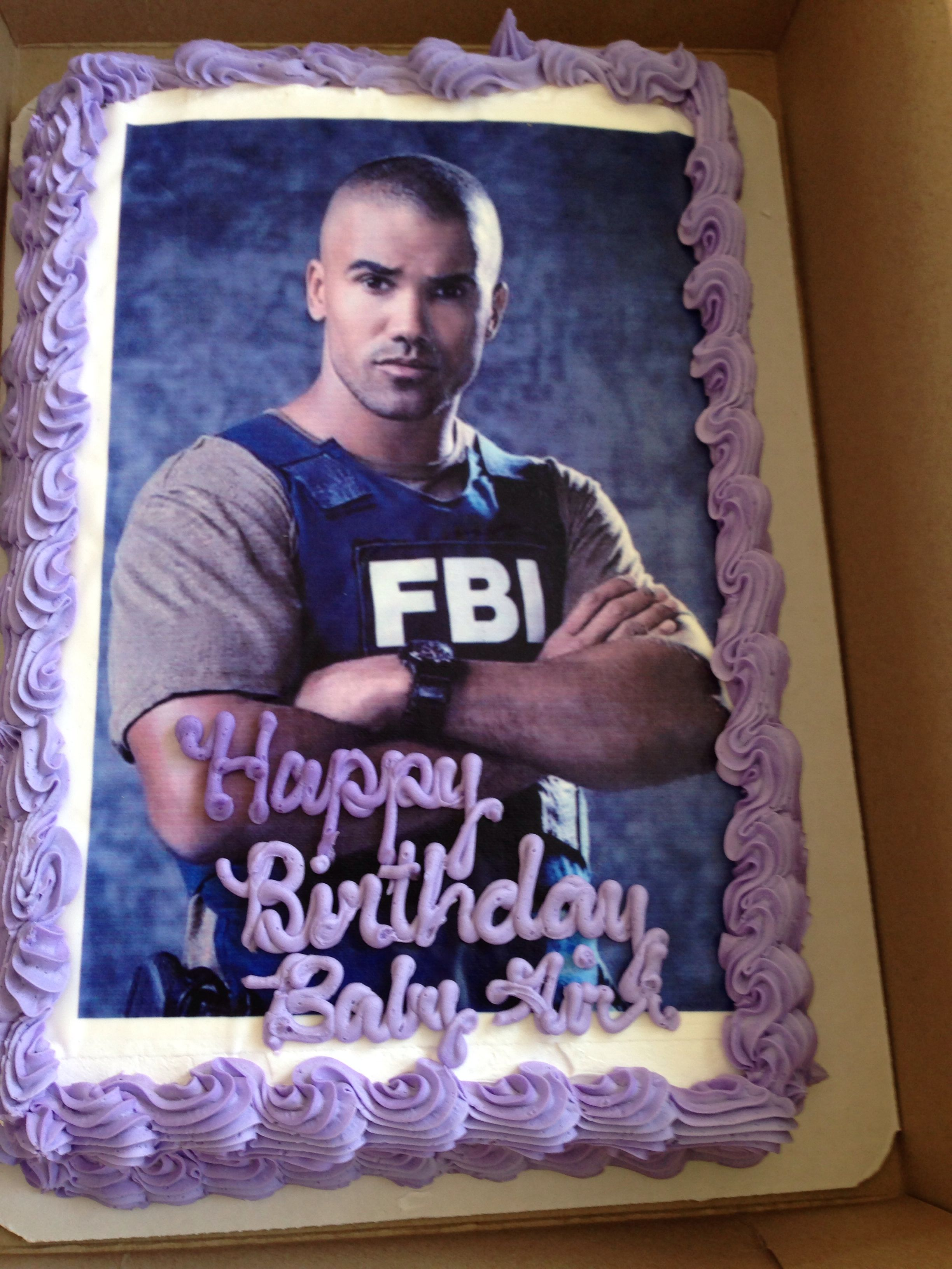 This Better Be My Birthday Cake Next Year Criminal Minds