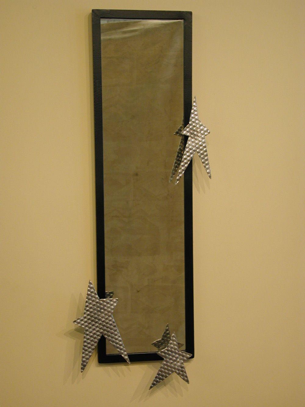 Steel & painted steel mirror badman.com | Badman Design | Grand Forks, ND