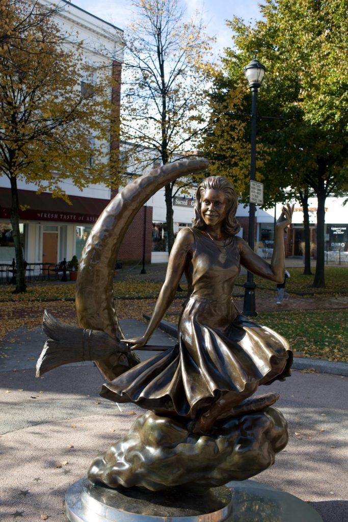 Halloween in Salem is not to be missed Explore the history of the - halloween statues