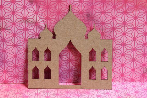 Taj Mahal Laser Cut Chipboard Die cut by 4johnsongirls on Etsy, $3.00