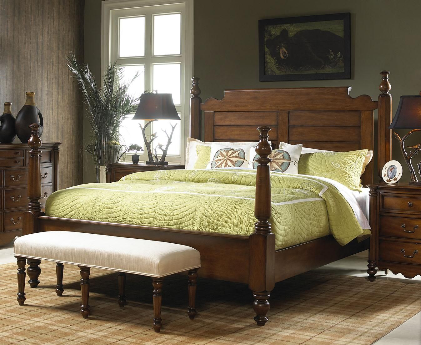 Summer Home King Post Bed by Fine Furniture Design Fine
