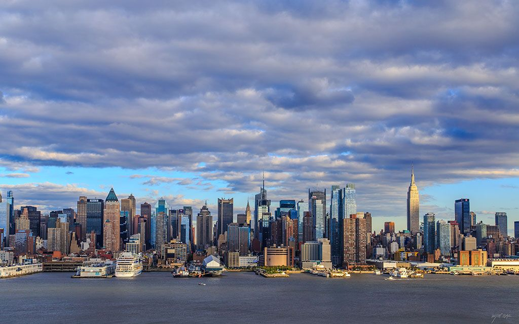 quotautumn sky in new yorkquot wallpaper by quotwjquot from http