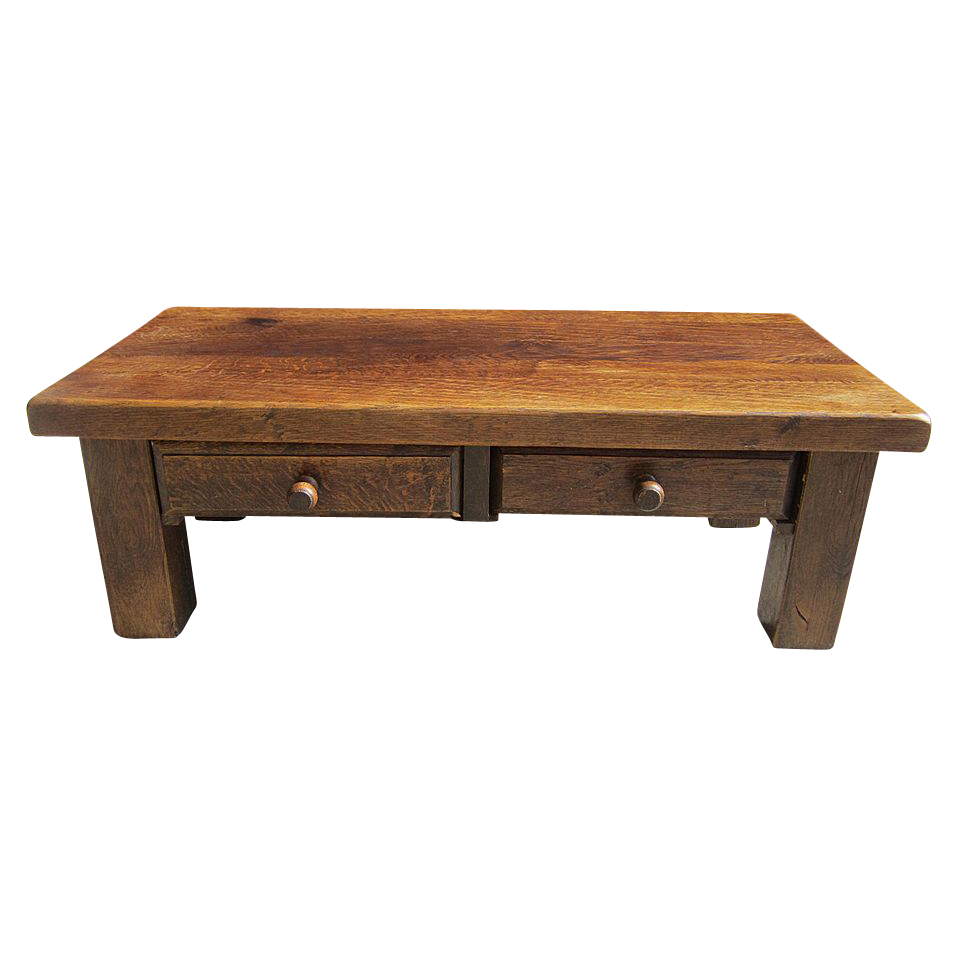 Antique furniture french antique rustic coffee table bench with drawers french antiques Coffee table antique
