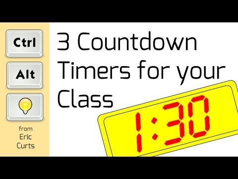control alt achieve 3 cool countdown timers for your classroom