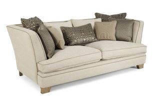 Beau Biba Clara High Arm Medium Sofa Scatter Back