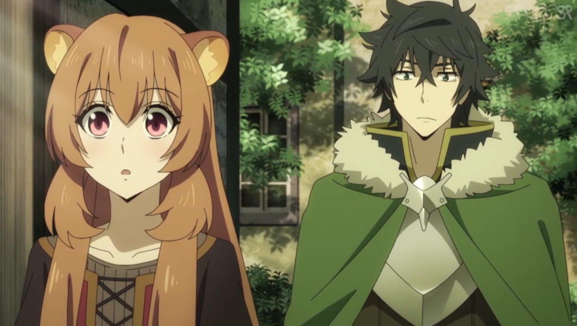 Raphtalia And Naofumi Anime Romance Anime Family Anime