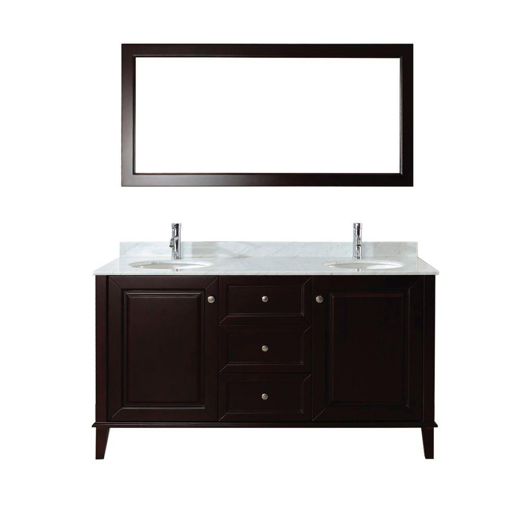 studio bathe lily 63 in vanity in chai with marble vanity top in rh pinterest co uk