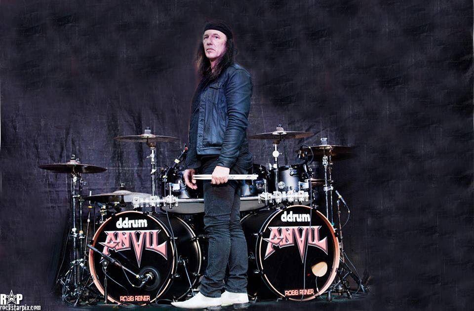 Robb Reiner | Drummer, Music instruments, Anvil