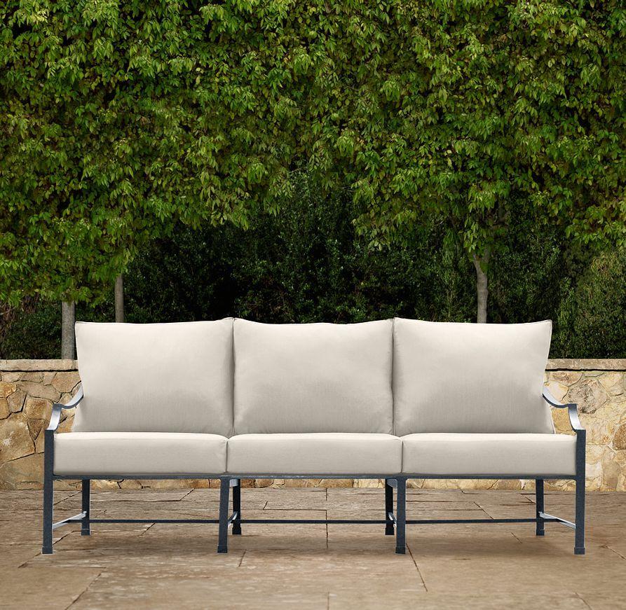 70 Carmel Clic Sofa Cushions Restoration Hardware Outdoor Furniture Garden
