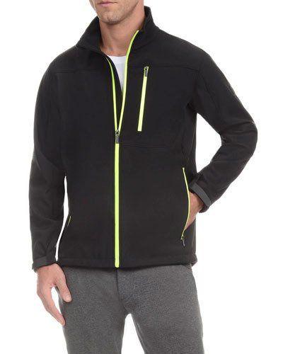 Full-Zip Jacket, Black