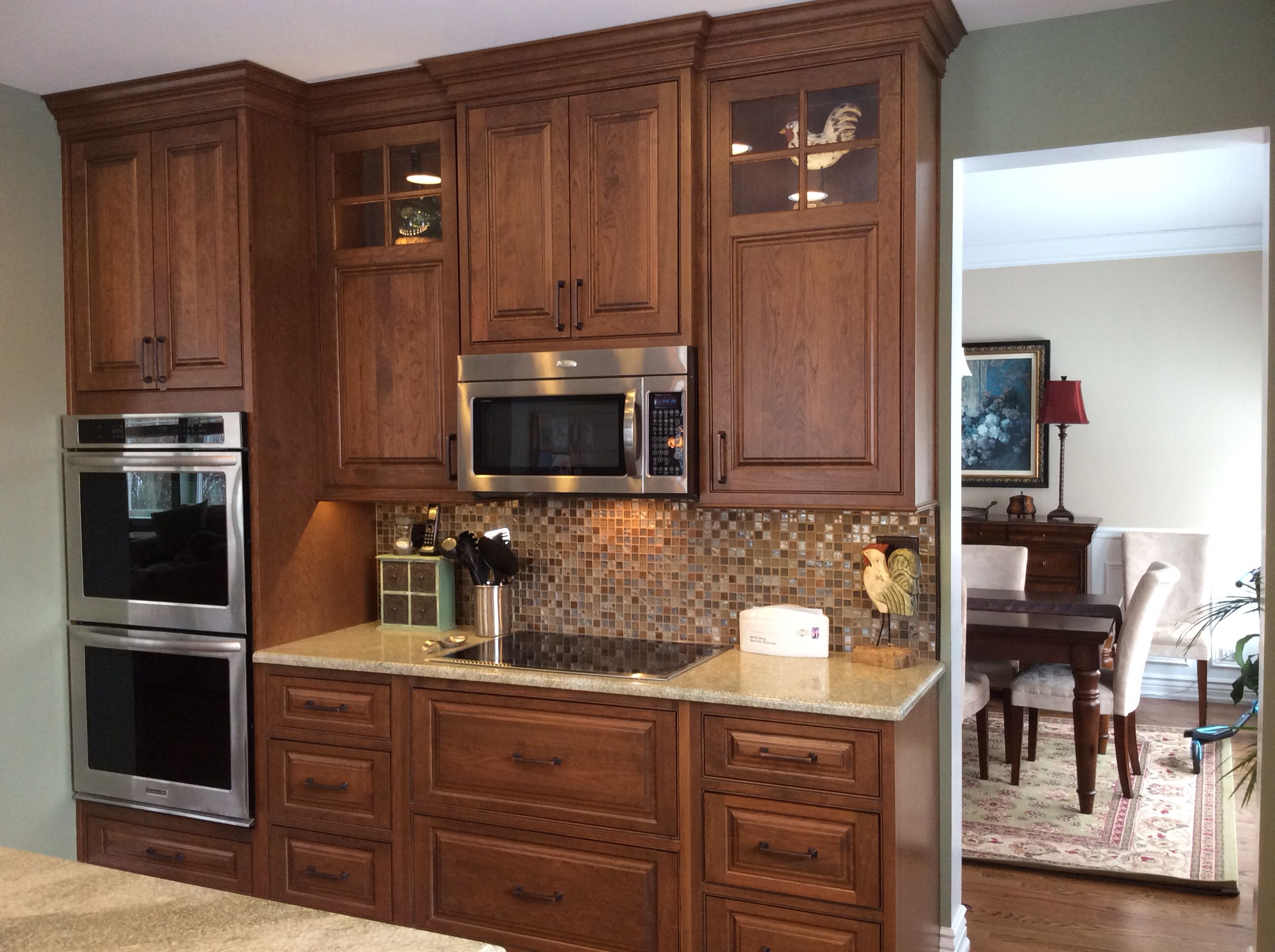 Shiloh Coffee Cherry Mocha Glaze Shiloh Cabinets Kitchen Cabinets Decor Kitchen Cabinets