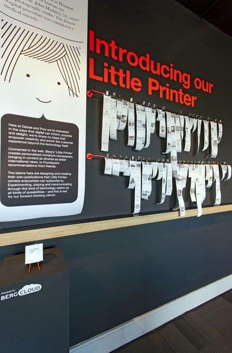 Dalziel and Pow - News - Meet our Little Printer