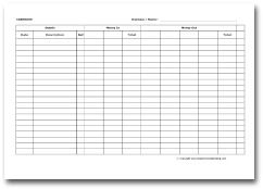 Bookkeeping Forms and Bookkeeping Templates | Templates