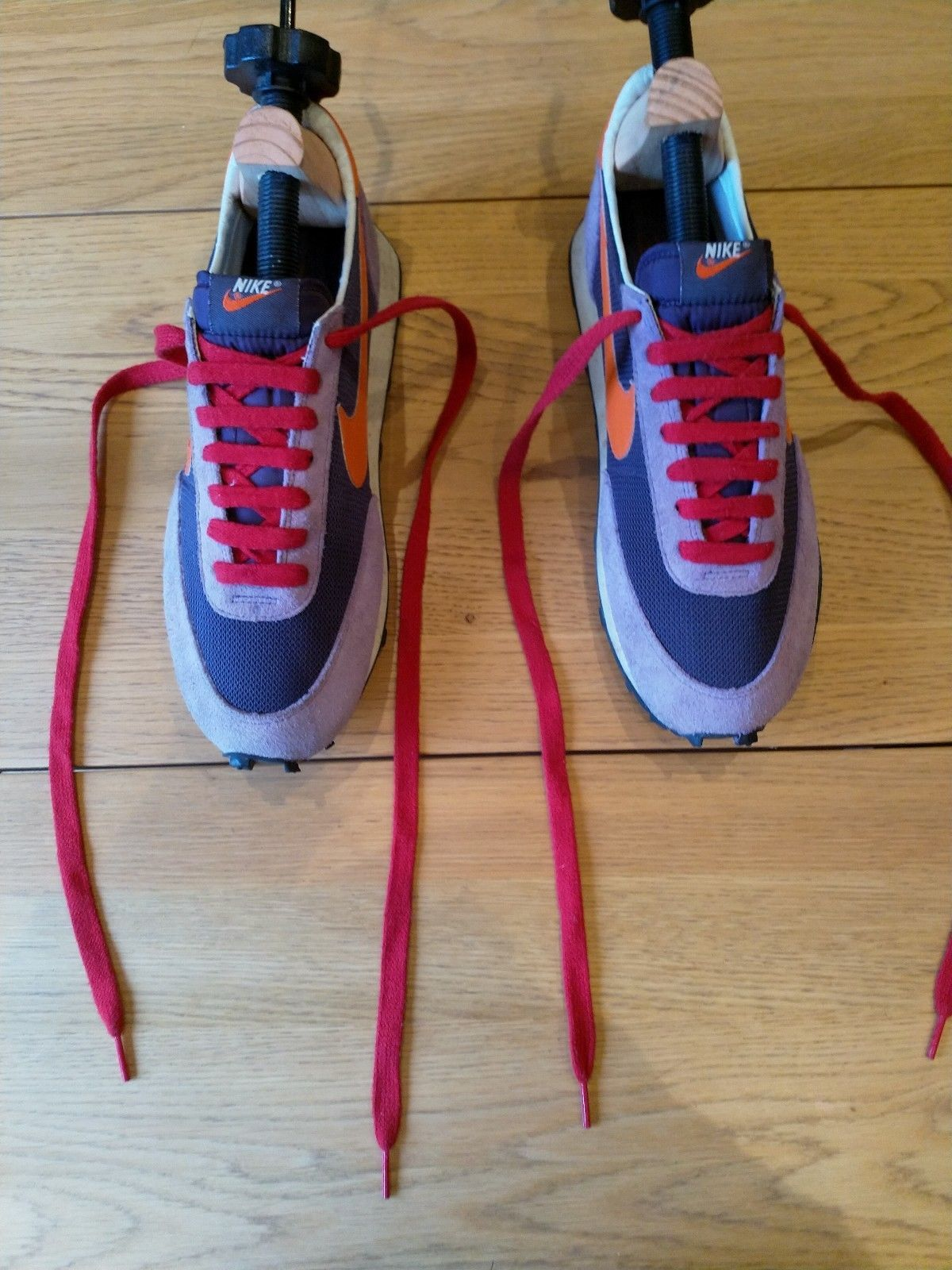 8b7dab8d9bd Nike vintage patent Waffle Racer running shoes Trainers rare uk9 LD 1000  premium