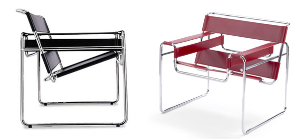bauhaus furniture Marcel Breuer Chair The Wasilly Chair