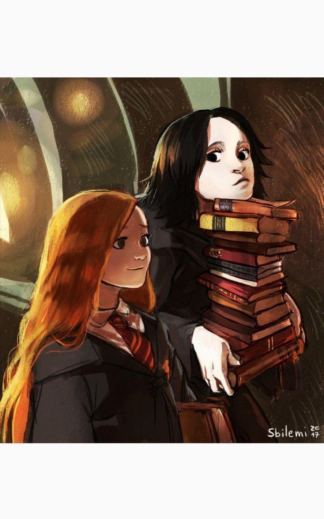 Severus Lily Harry Potter Anime Snape Harry Potter Cute Harry