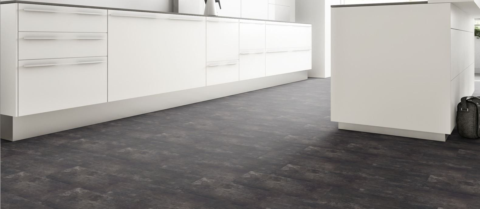 Vinyl Fliesen Fur Die Kuche Kitchen Lesumbogen Flooring Tiles