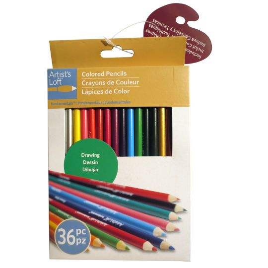 Artist S Loft Fundamentals Colored Pencils Colored Pencils