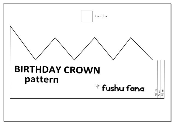 Make a Tiara Crown pattern, Crown and Jewel - crown template
