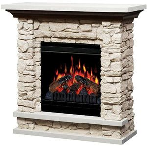 Dimplex 36 Compact Stone Electric Fireplace For The Home Stone