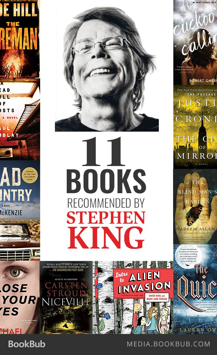 Book By Phyllis Vega Trish Macgregor: 11 Books Recommended By Stephen King