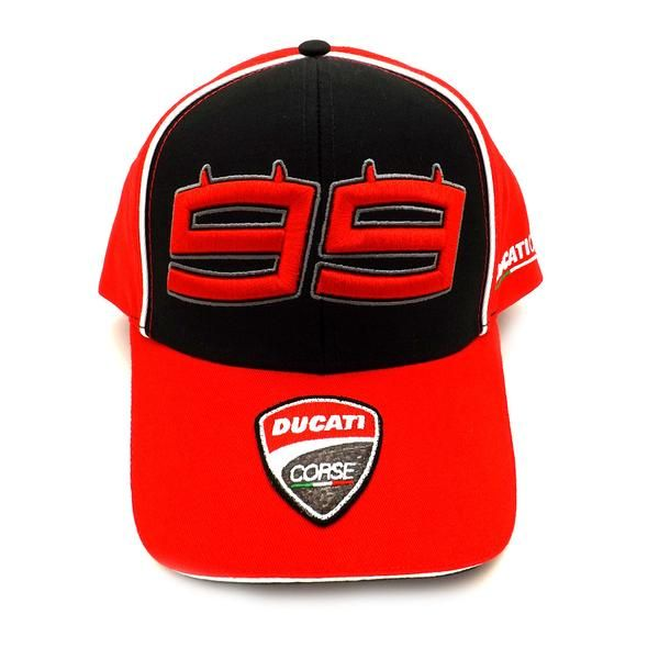 34f658e3ebb93b Ducati Corse Jorge Lorenzo 99 Moto GP Kids Baseball Cap Official 2017