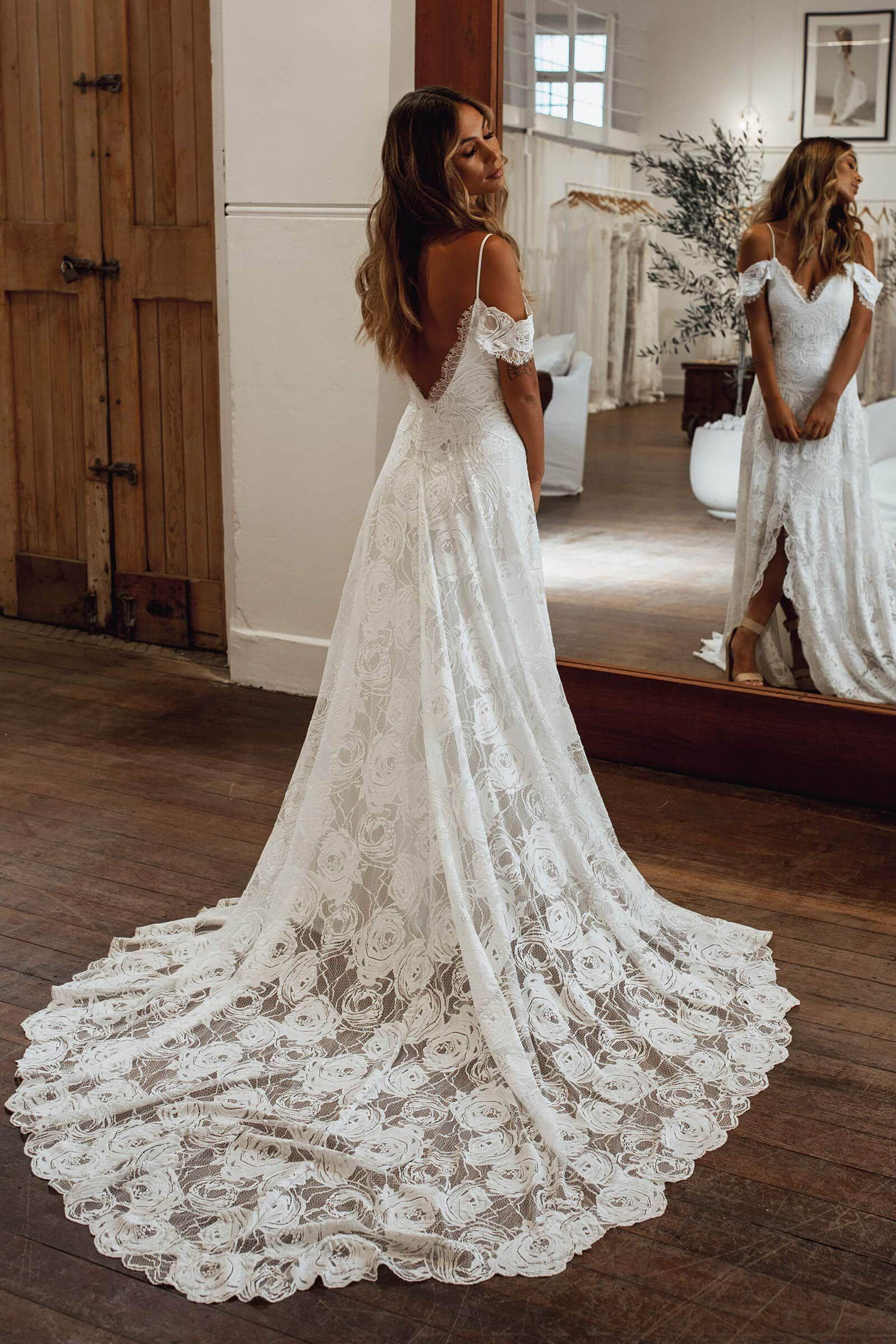 Photo of Bonita Gown   Lace Wedding Dress   Grace Loves Lace