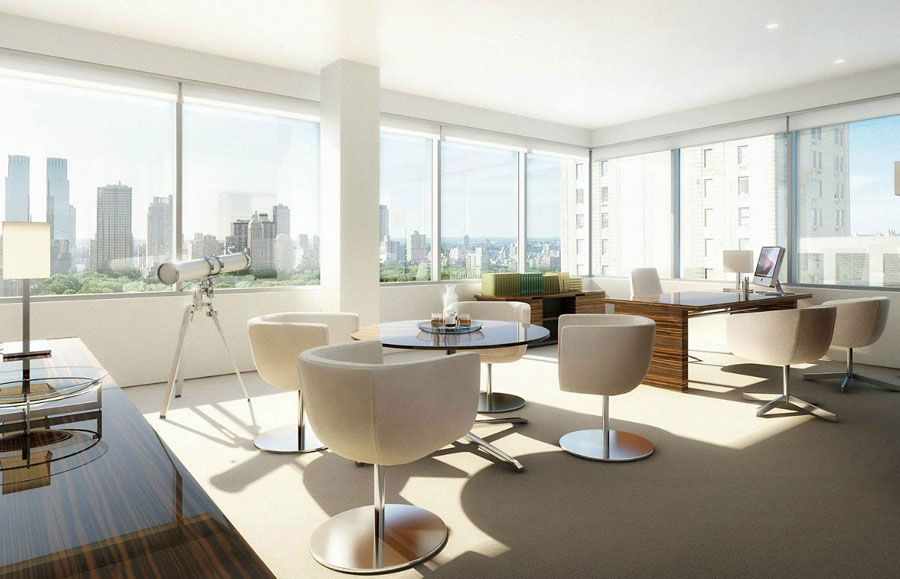 modern office images Modern fice with City View